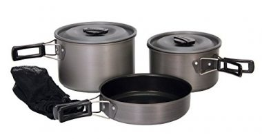 Texsport Black Ice The Scouter Camping Cookware Sets