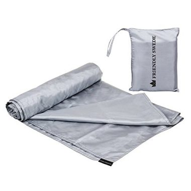 The Friendly Swede Travel Backpacking And Camping Sheet Sleeping Bag Liner