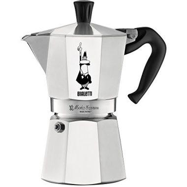 The Original Bialetti Moka Express Camping Coffee Maker