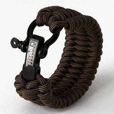 Titan Paracord Survival Bracelet