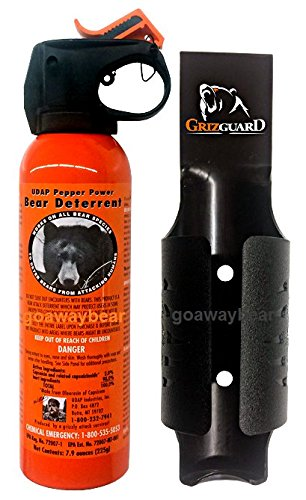UDAP Color Griz Guard Holster Bear Spray