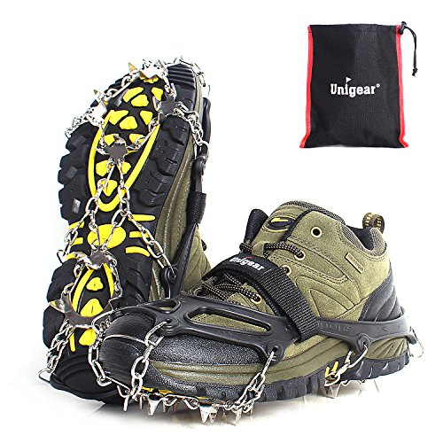Unigear Traction Cleats with 18 Spikes Crampon