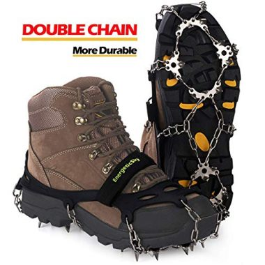 EnergeticSky Walk Traction Ice Cleat Spikes Crampon