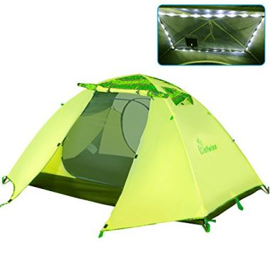 WolfWise 2 Person Lightweight Backpacking Tent