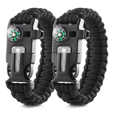 X-Plore Gear Survival Bracelet