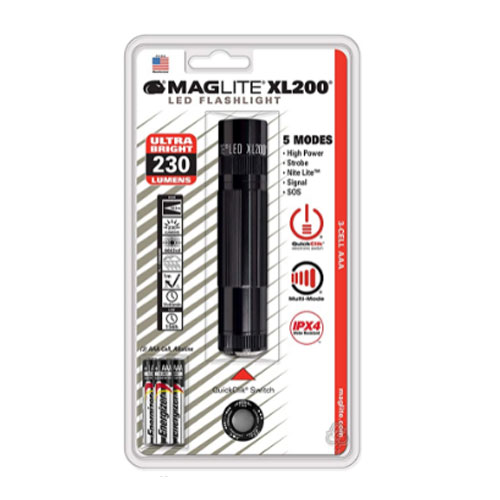 Maglite XL200 3-Cell AAA EDC Flashlight