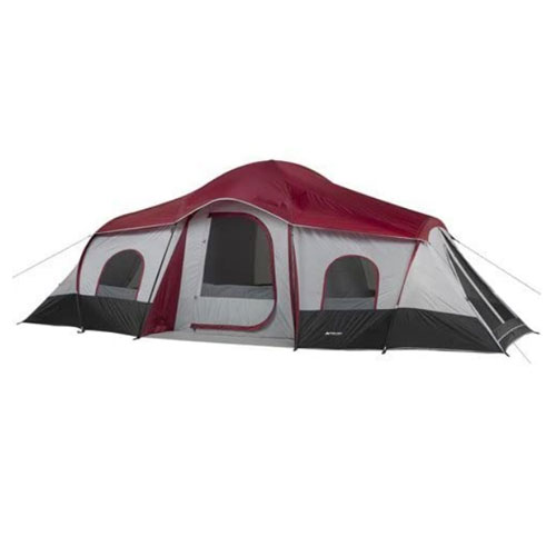 OZARK Trail 10-Person 3-Room XL Family Cabin Tent for Families