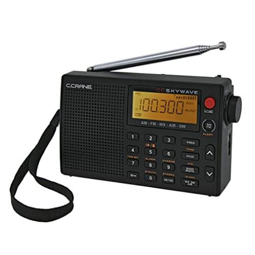 C Crane CC Skywave Shortwave Travel AM FM Portable Radio