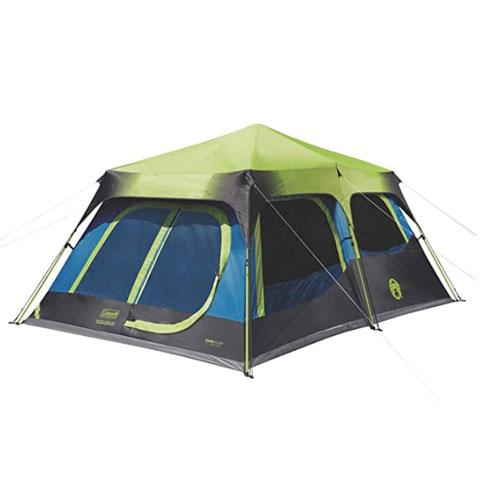 Coleman Dark Room 10-Person Instant Cabin Family Tent