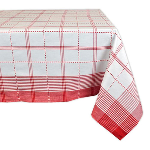 Dll Country Plaid Square Tablecloth