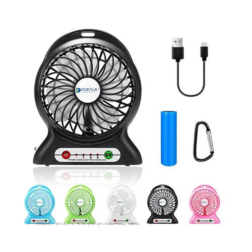Dizaul USB Rechargeable Camping Fan