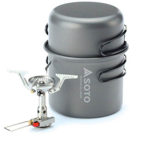 Soto Amicus Stove Combo Backpacking Cookware