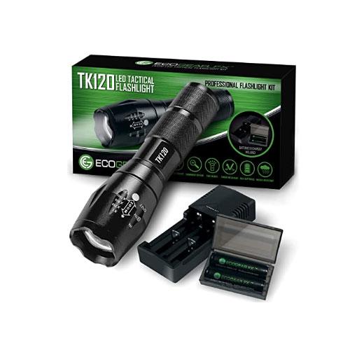 EcoGear FX TK120 Tactical Flashlight