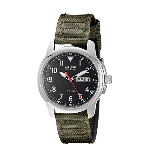 Citizen Men's Eco-Drive Stainless Steel Tactical Watch