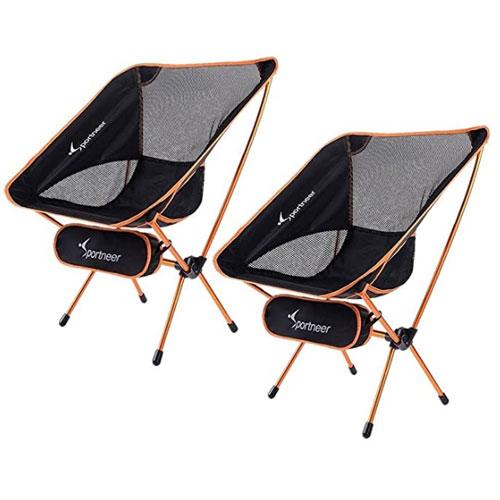 Sportneer Portable Lightweight Backpacking Chair