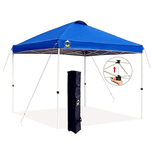 Crown Shades Instant 10×10 Pop Up Canopy