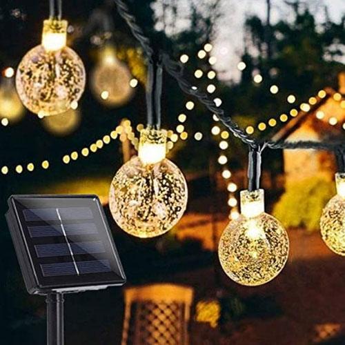 BriPower 50 LEDs Garden Solar Lights