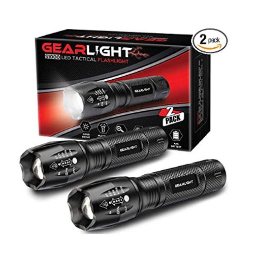 GearLight S1000 LED Tactical Flashlight
