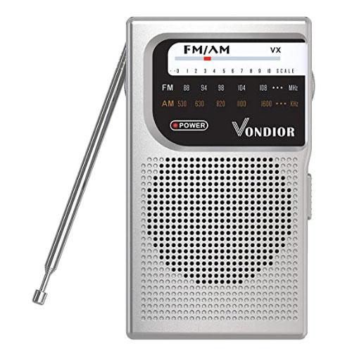 Vondior AM/FM Portable Radio