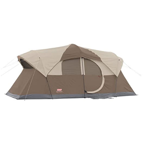 Coleman WeatherMaster 10-Person Outdoor Family Tent