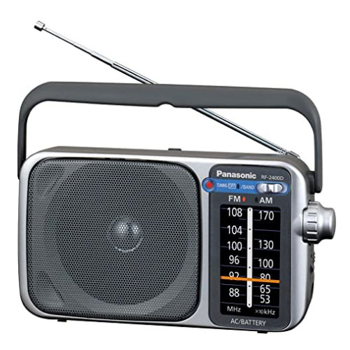 Panasonic RF-2400D AM FM Portable Radio