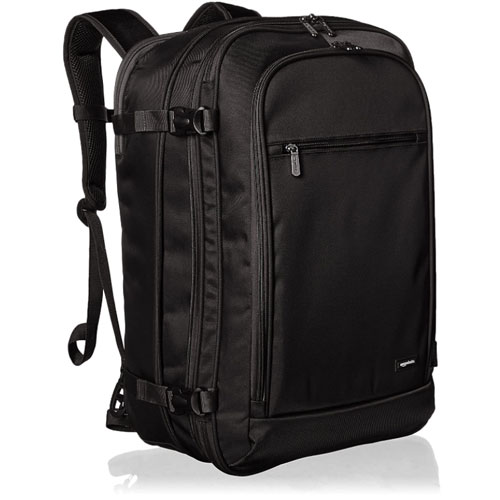 AmazonBasics Carry-On Travel Backpack