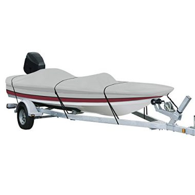AmazonBasics V-Hull Runabouts and Bass Boat Cover
