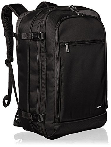 Carry-On Travel Backpack by AmazonBasics