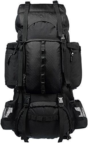 Internal Frame Hiking Backpack by Amazon Basics