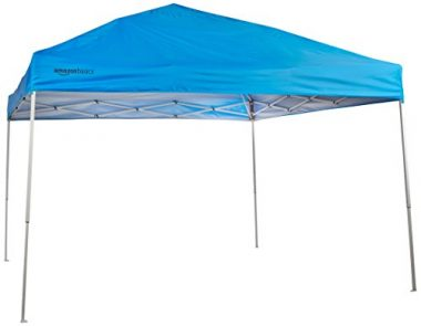 AmazonBasics Pop-Up Canopy Tent, 10 x 10 ft