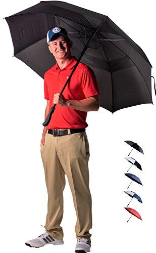 Athletico 62/68 Inch Automatic Open Golf Umbrella