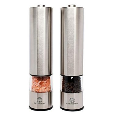 Automatic Salt and Pepper Grinders by Elite Everyday