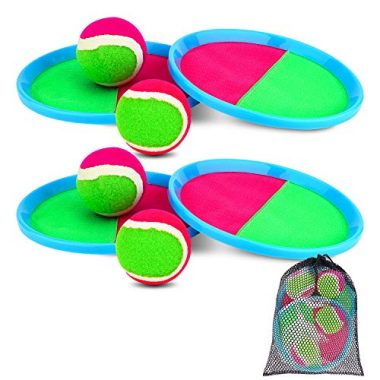 Ayeboovi Paddle Toss and Catch Ball Set Beach Game