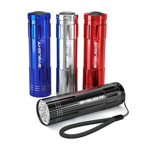 BYB Super Bright 4-Pack Mini Aluminum Pocket Flashlight
