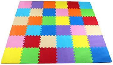 BalanceFrom Puzzle Exercise Play Mat Baby Camping Gear