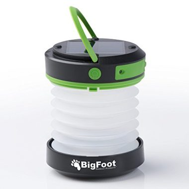 Bigfoot Outdoor Products Compact Camping Solar Lantern