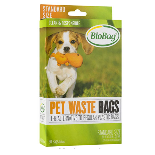 BioBag 50 Count Dog Waste Bags