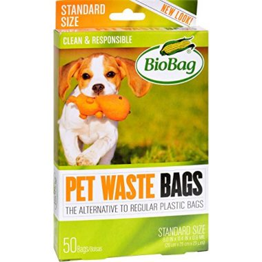 BioBag 50 Count Pet Waste Bags Dog Camping Gear