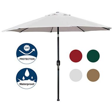 Blissun Garden Parasol Patio Umbrella