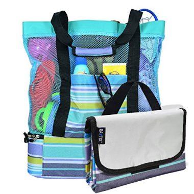 Breezy Convenient Mesh Beach Bag