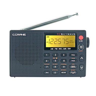 C Crane CC Skywave AM, FM, Shortwave Travel Radio