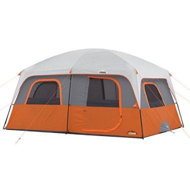 CORE Straight Wall Cabin 10 Person Tent