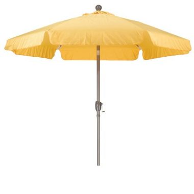 California Umbrella Aluminum Pole Fiberglass Rib Patio Umbrella