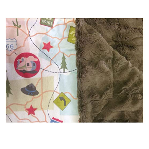 Camp Casual The Throw Plush Blanket
