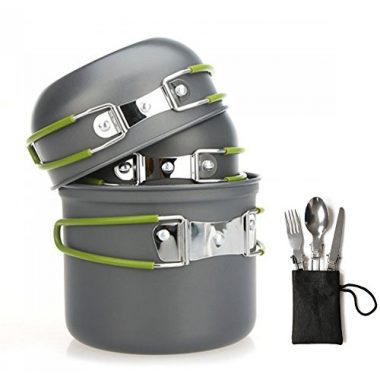 Aoduoer Mess Kit Outdoor Backpacking Cookware