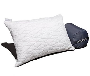 Coop Home Goods Bamboo Derived Viscose Rayon Camping Pillow