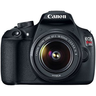 Canon EOS Rebel T5 Digital SLR Camera Kit with EF-S 18-55mm IS II Lens