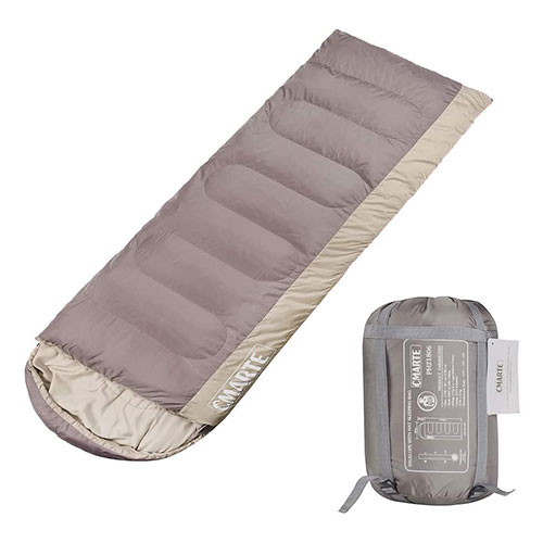 Cmarte 4 Seasons Backpacking Cotton Women's Sleeping Bag