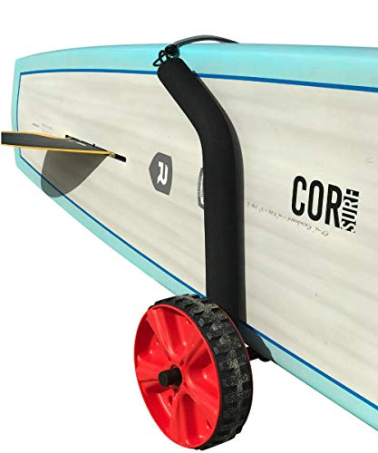 Cor Surf Stand Up Paddleboard Cart Paddle Board Accessory