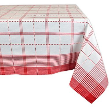 Country Plaid Tablecloth by DII